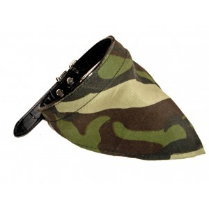 Camo Bandana Collar XL 17-20""