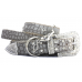 Glam Rock Croc Leather Collar
