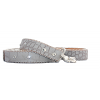 Glam Rock Croc Leather Lead