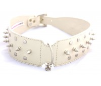 Gladiator Glam Collar in cream