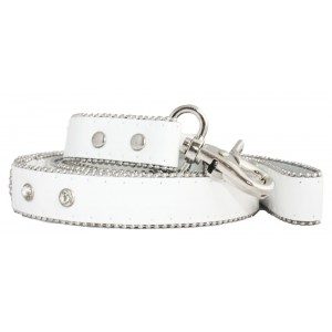 Monte Carlo Dog Lead in Arctic White