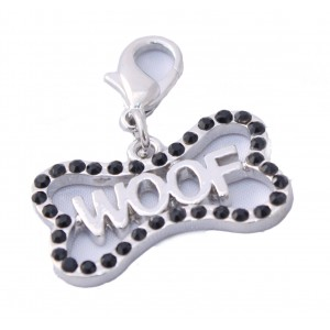 Woof Bone Dog and Cat Charm
