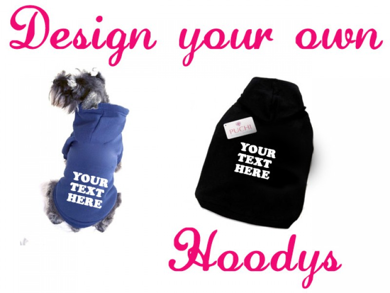 Design your own hoody puchi petwear designer dog Dog clothes design your own