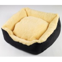 Senior Gold Sheepy Dog Bed - Large