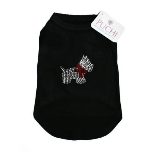 Scottie T-Shirt in Diamantes