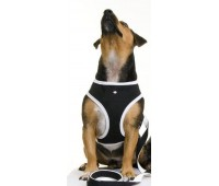 Puchi Softy Harness for dogs in Black