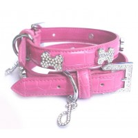 Ooh la La Crystal Dog Collar (Clear Crystals)