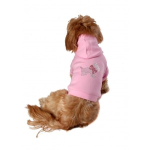 Scottie Hoodie in Diamantes