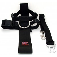 Car Seat Belt & Harness (Black)