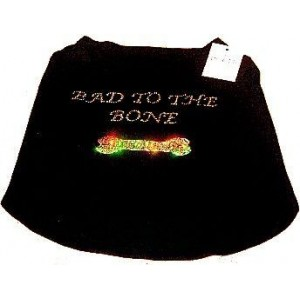 Bad To The Bone in Diamantes T-Shirt