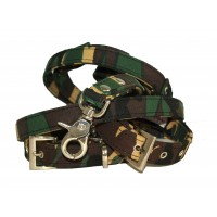 Camouflage Collar & Lead Set