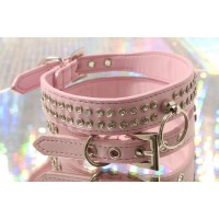 Crown Jewels Dog Collar in Pink