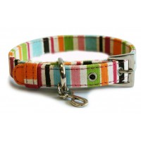 Holiday Canvas Dog Collar
