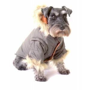 Nosy Dog Parka in Khaki