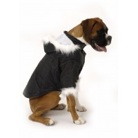Nosy Dog Parka in Black