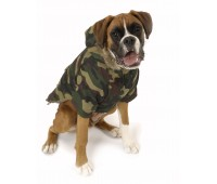 Nosy Dog Parka in Camouflage