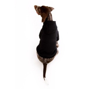 Plain Dog Hoodies in Midnight Black