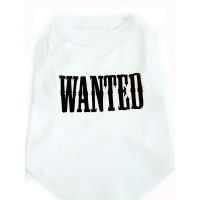 Wanted Dog Tshirt