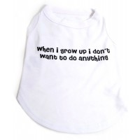 When I grow up.. Dog Tshirt