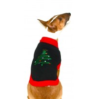 Christmas Tree Dog Jumper