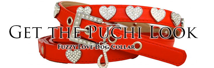 Fuzzy Fuzzy Love Dog CollarLove Dog Collar